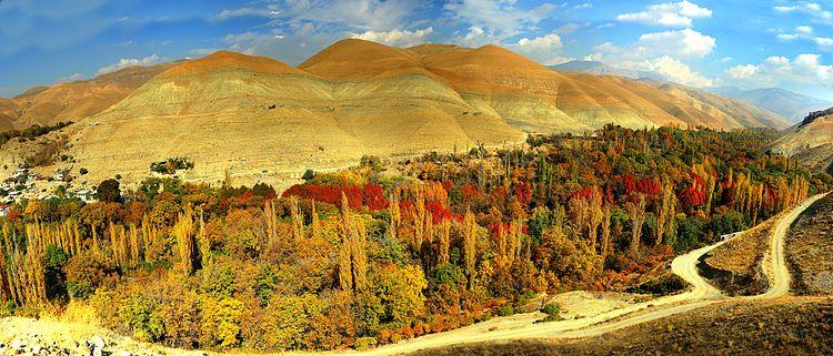 روستای چشمه ها برغان کرج
