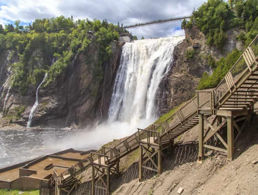 آبشار مونتمورسی کبک