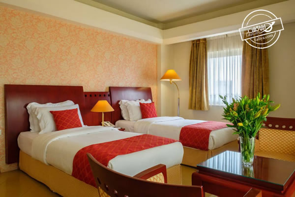 اتاق های هتل همای شیراز