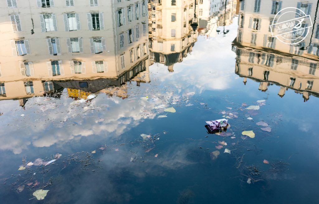 کثیفی شهر پاریس