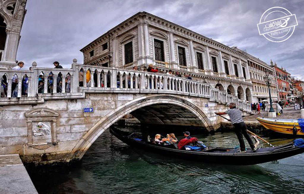قصر دوک و پل اه در شهر ونیز