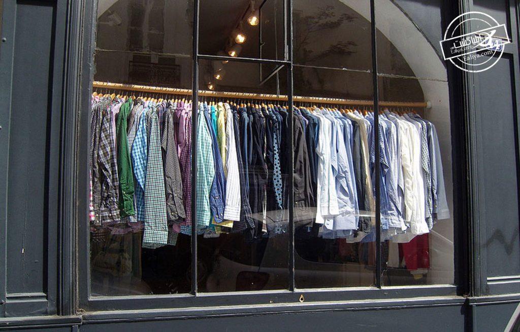 گردش در لباس فروشی های پاریس