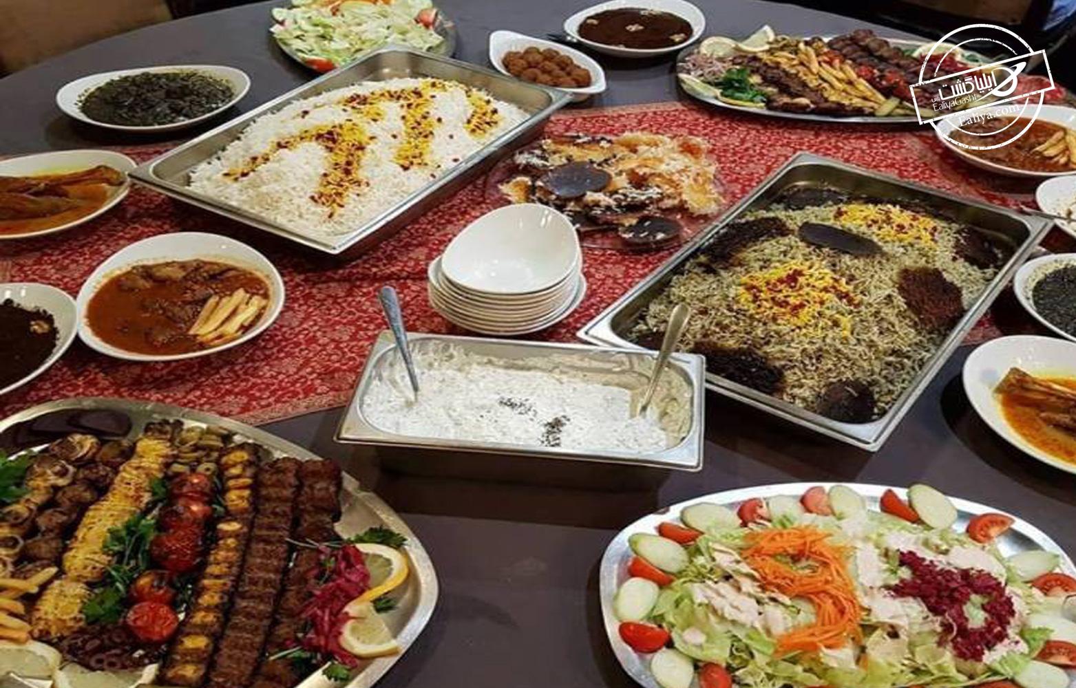 غذای ایرانی در پاریس