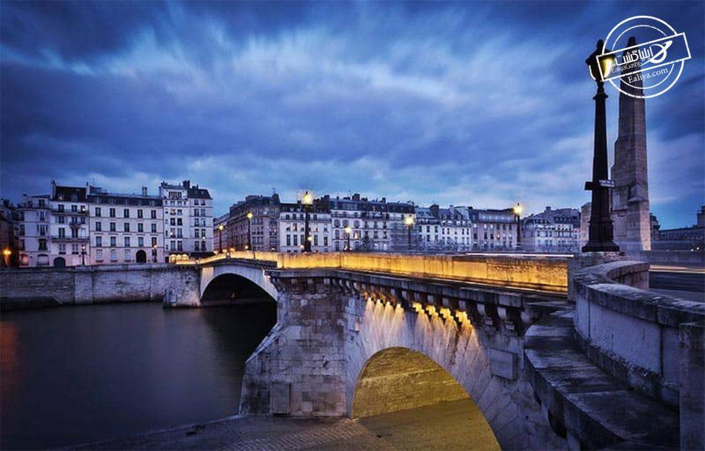 جاذبه دیدنی شب در پاریس