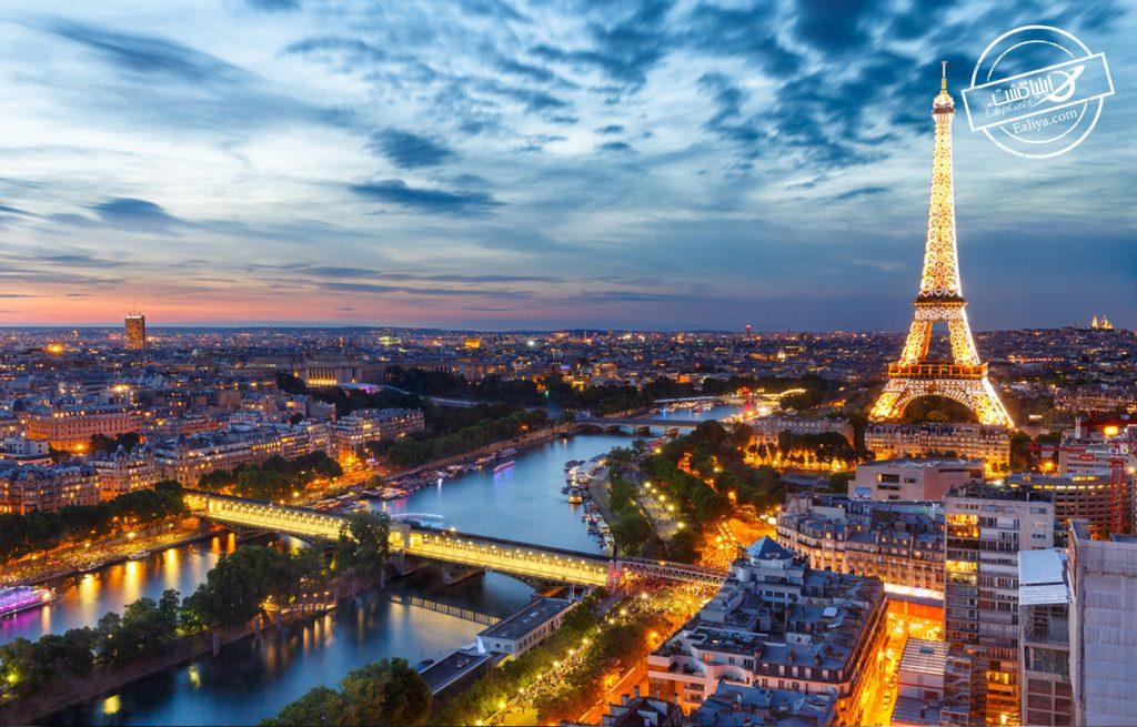 ویو شهر پاریس