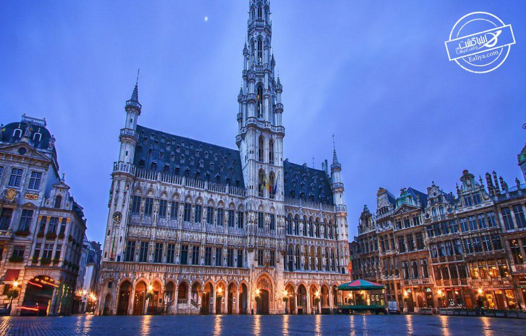 نمای شهر بلژیک