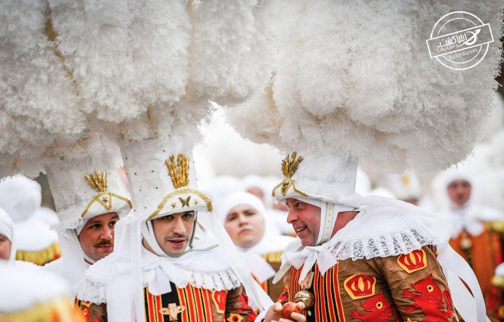 مهمترین جشن بلژیک کارناوال بینج
