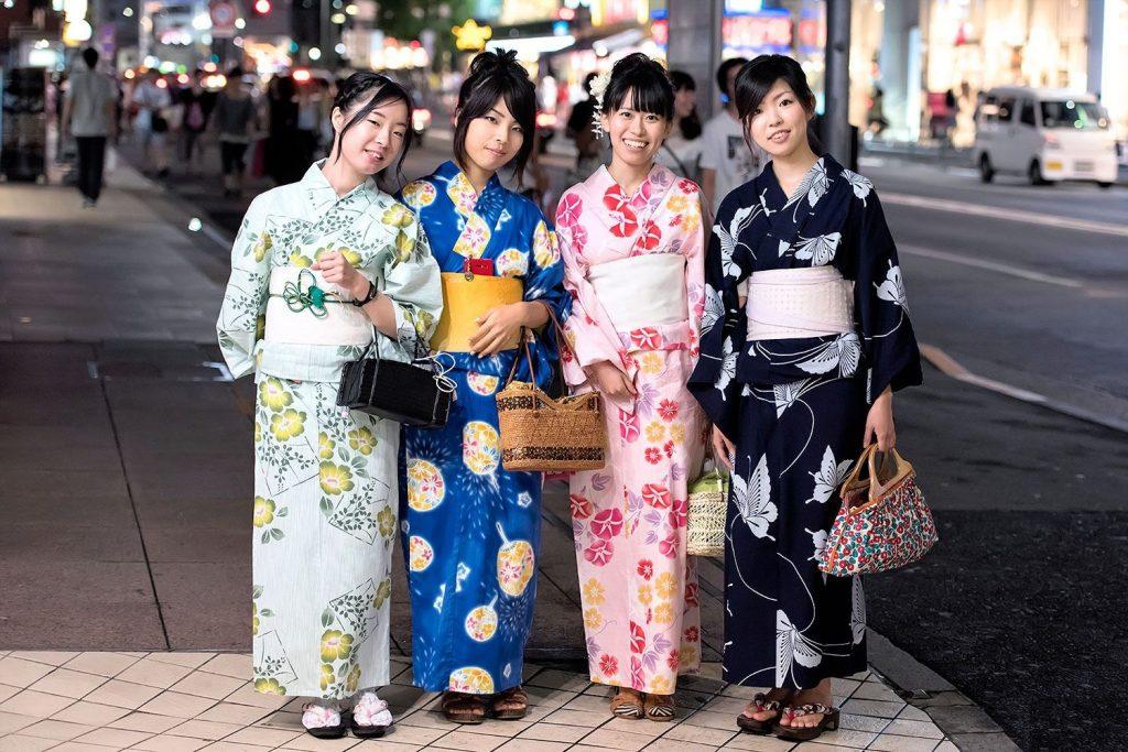 یوکاتا - کیمونو سنتی