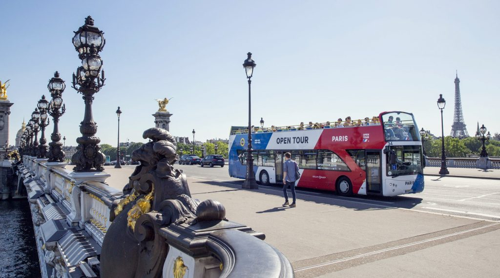 سامانه اتوبوس رانی پاریس