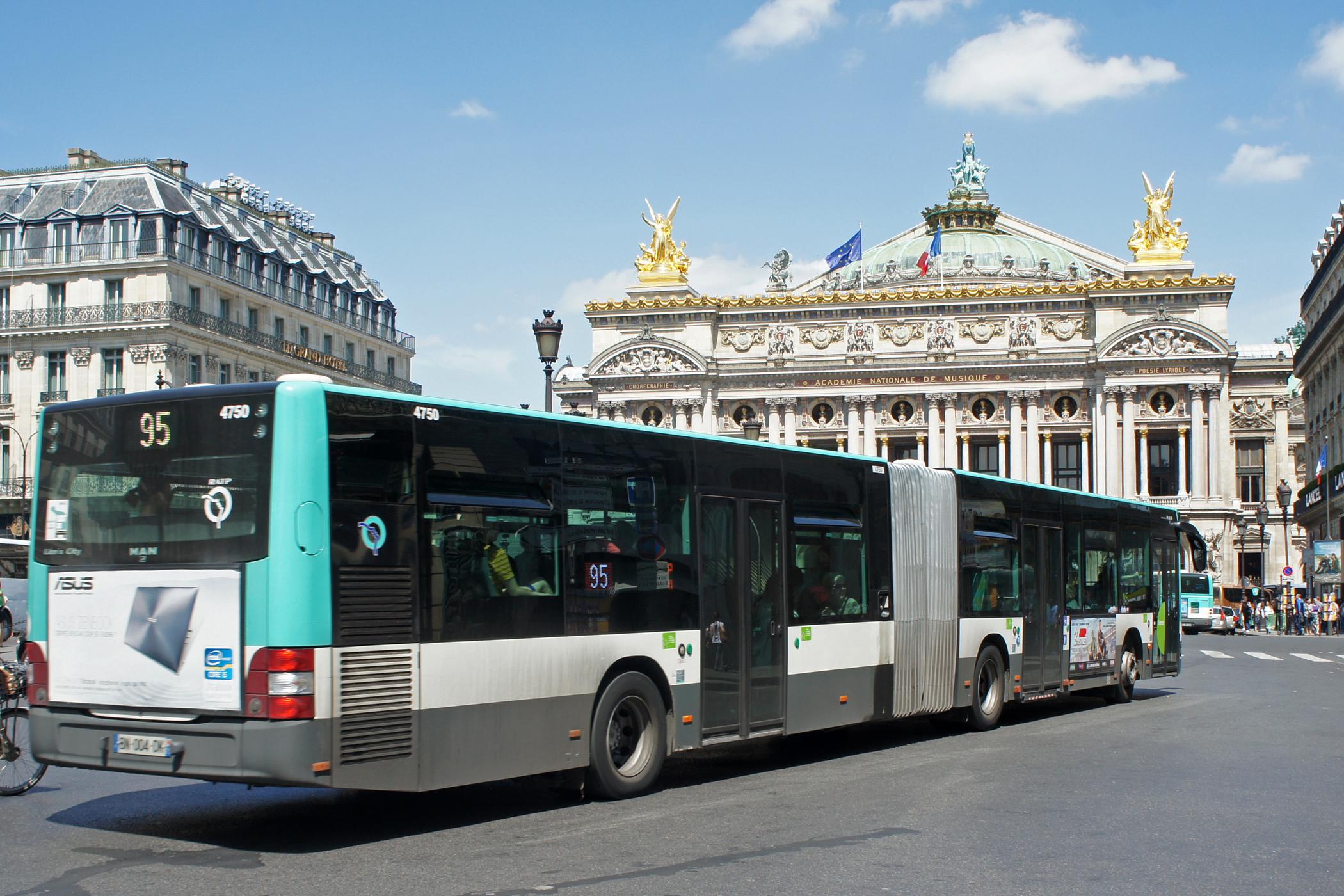 آشنایی باسیستم حمل ونقل پاریس