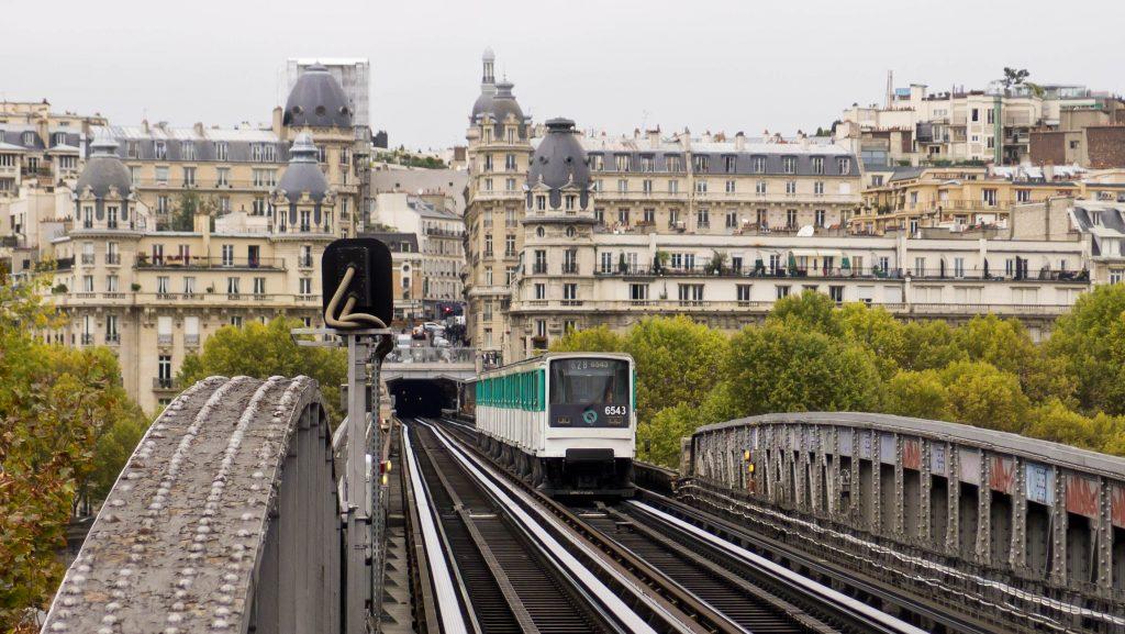 خطوط مترو در پاریس