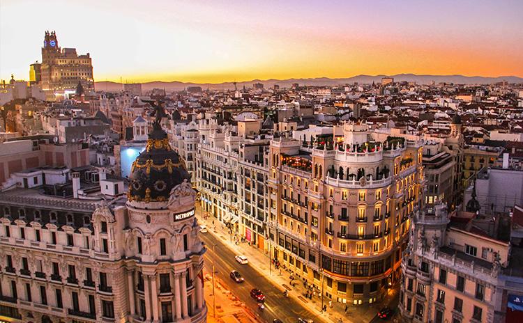 نمای از بورگوس اسپانیا