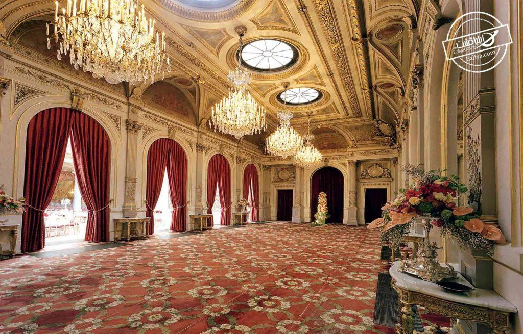 نمای داخلی کاخ الیزه