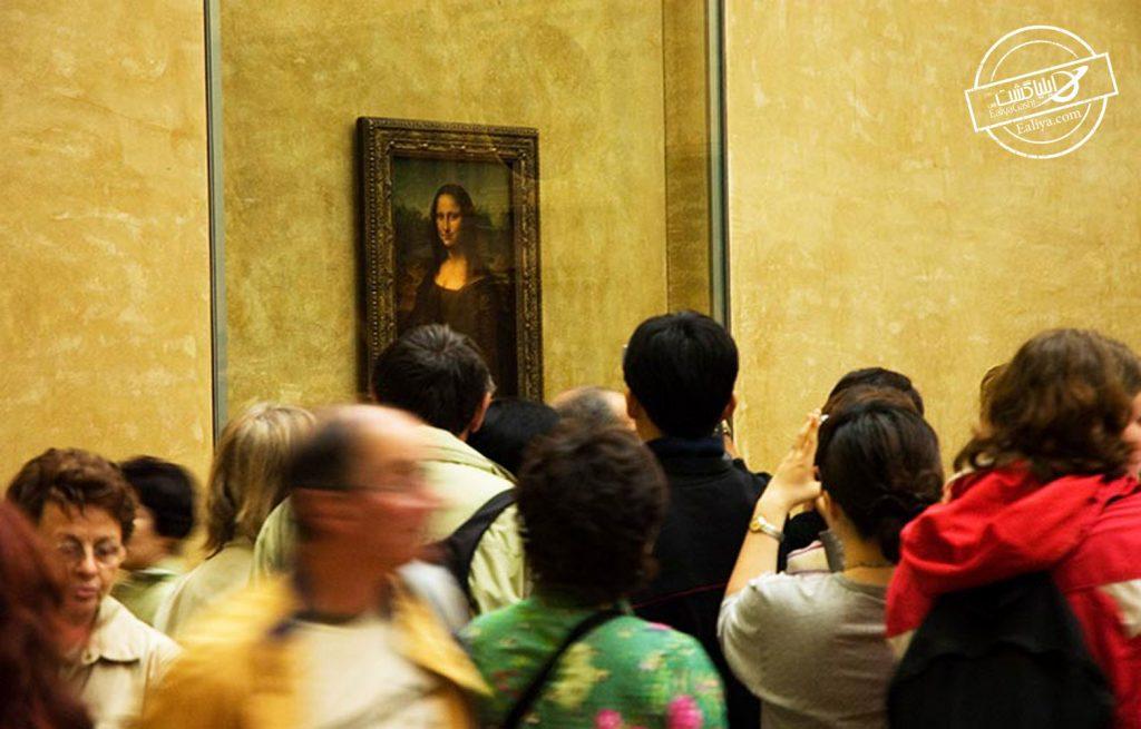 نقاشی مونالیزا اثر داوینچی