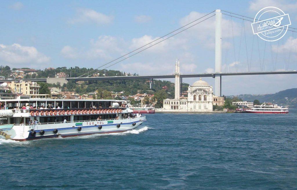 حمل کشتی در استانبول