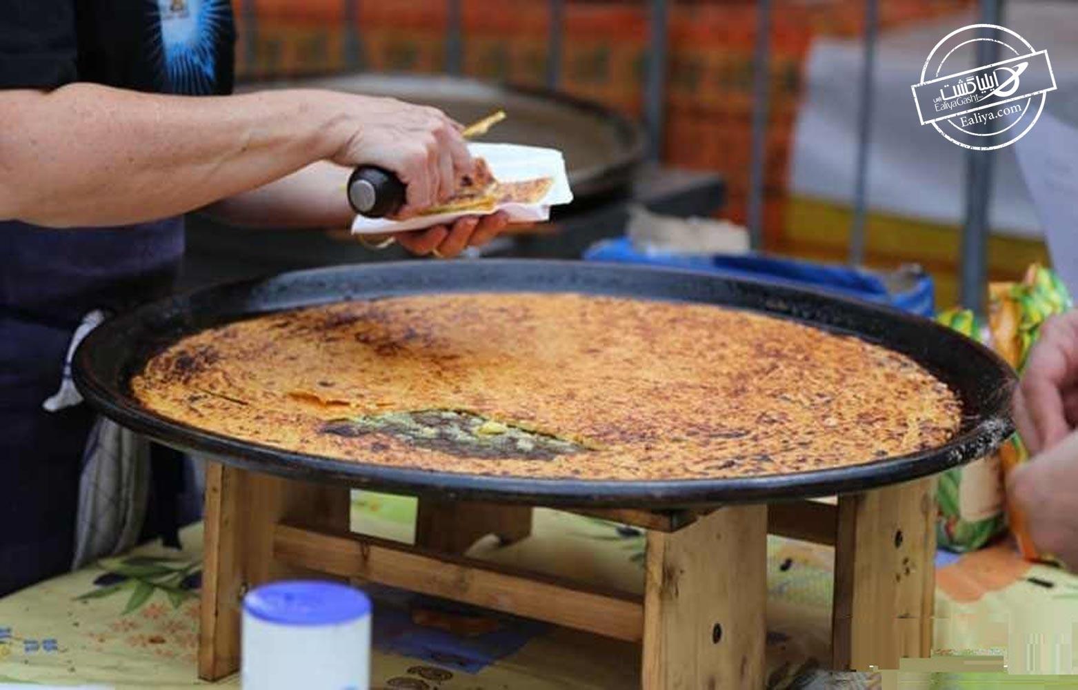 طرز تهیه سوکا پنکیک نخود فرانسه