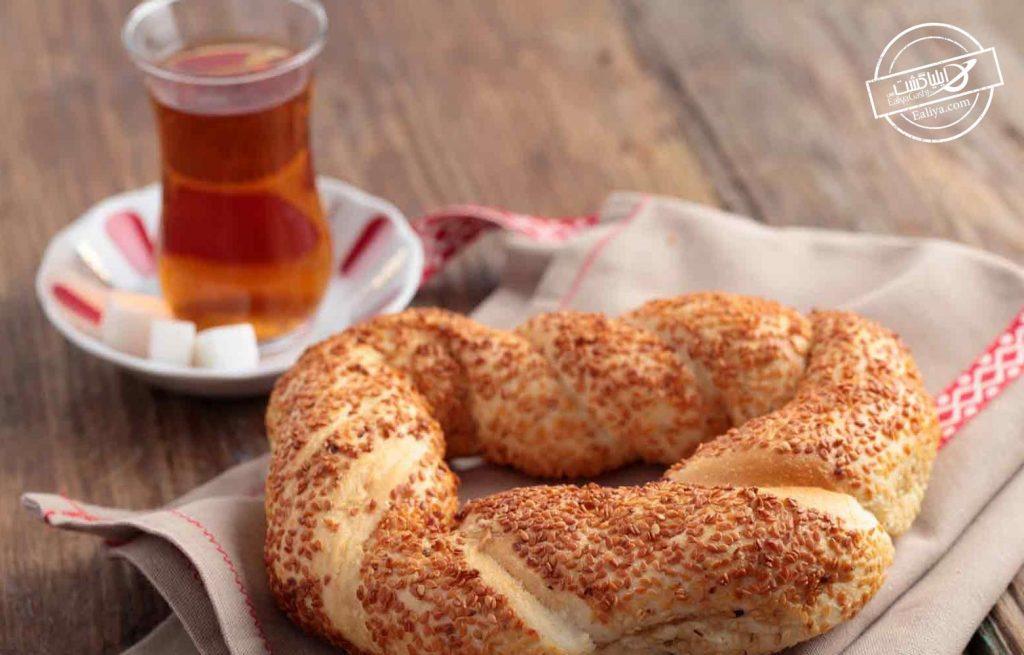 سیمیت نان ترکیه ای