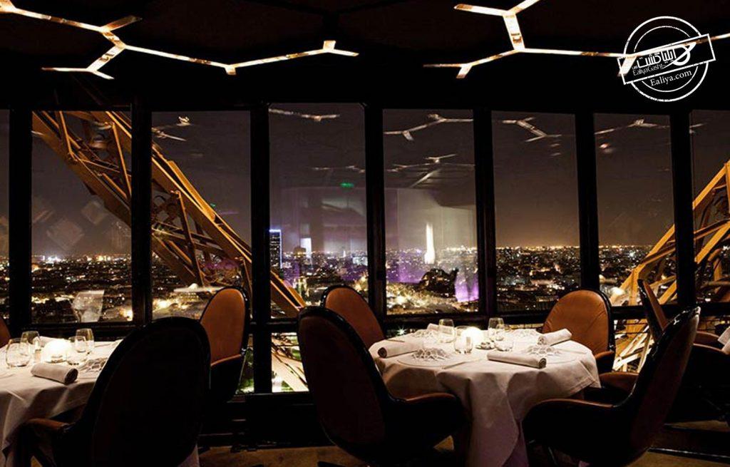 بهترین رستوران های برج ایفل