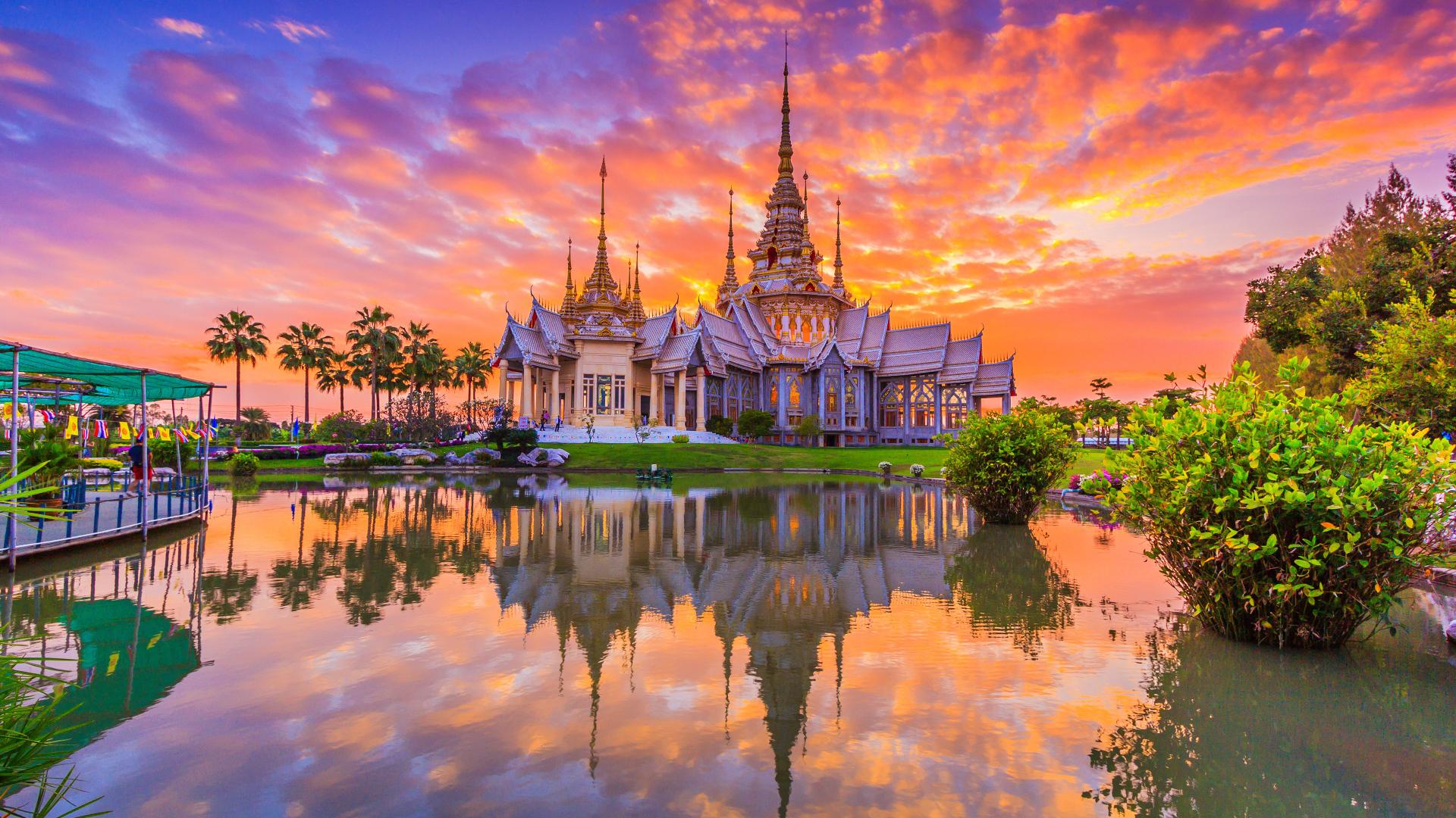 معبد بودا در تایلند