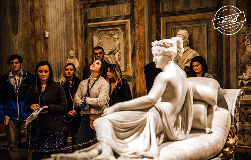 آثار هنری گالری بورگز در رم