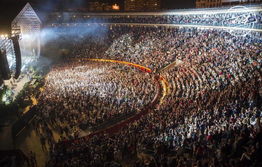 تیبدیل میدان گاوبازی به محل اجرای کنسرت