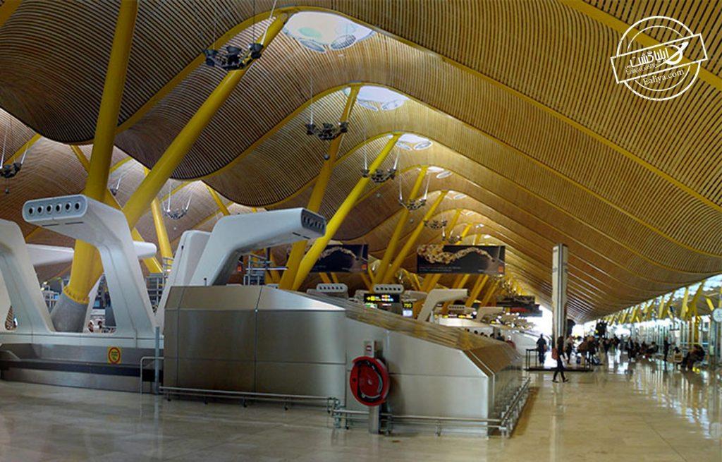 دسترسی امکانات فرودگاه مادرید
