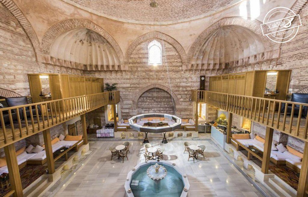 حمام های ترکی استانبول و تفریحات این شهر