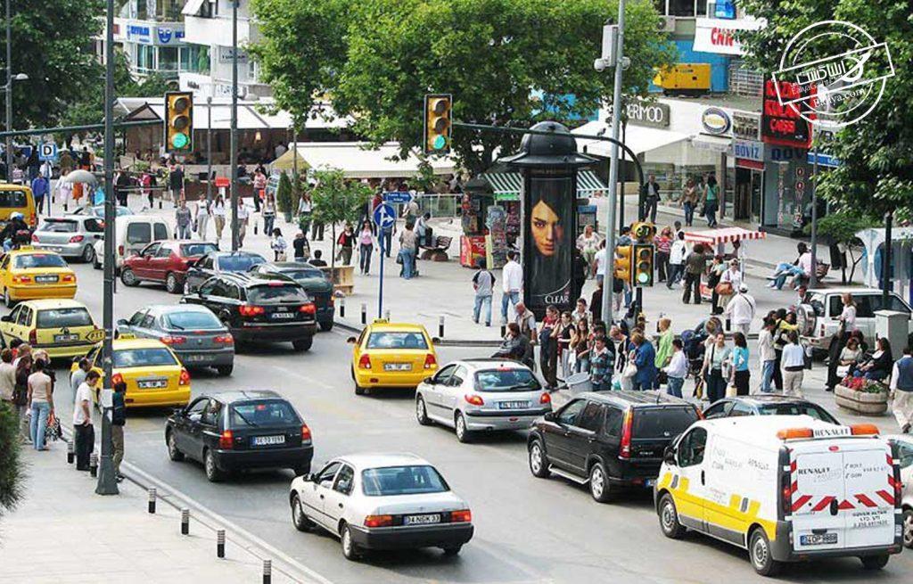 خیابان های معروف استانبول خیابان بغداد