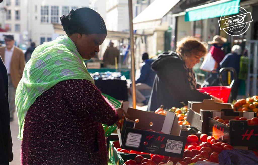 گشت و گذار در بازار های پاریس