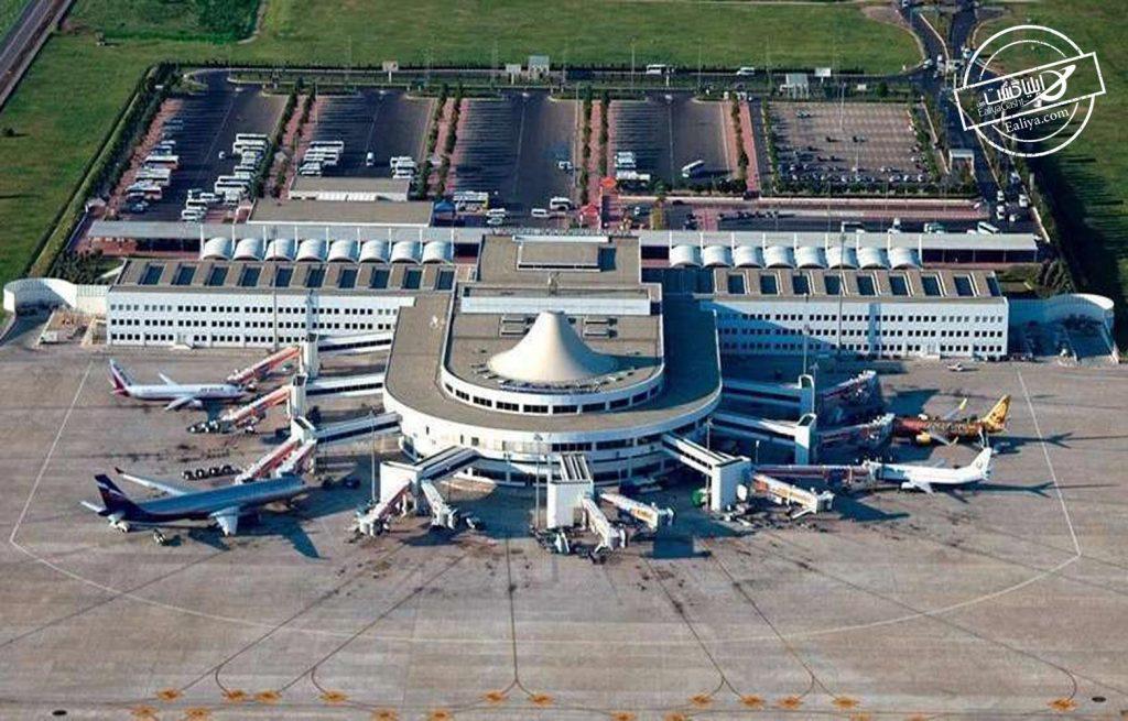 نمای از فرودگاه آنتالیا