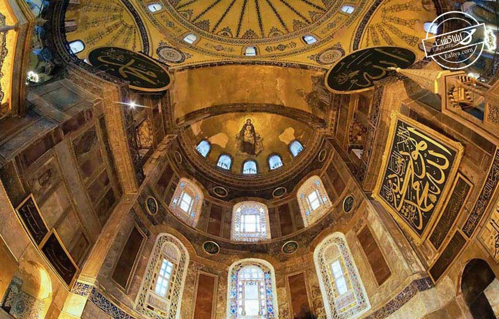 نمای شگفتی ایاصوفیه استانبول