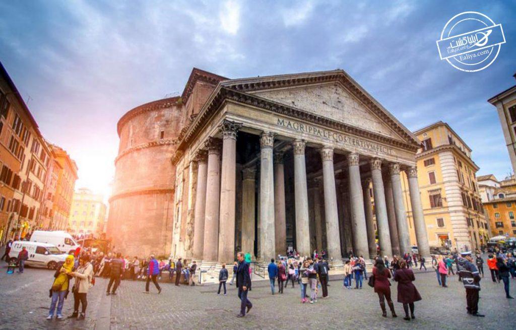 بهترین بنای تاریخی و گردشگری رم