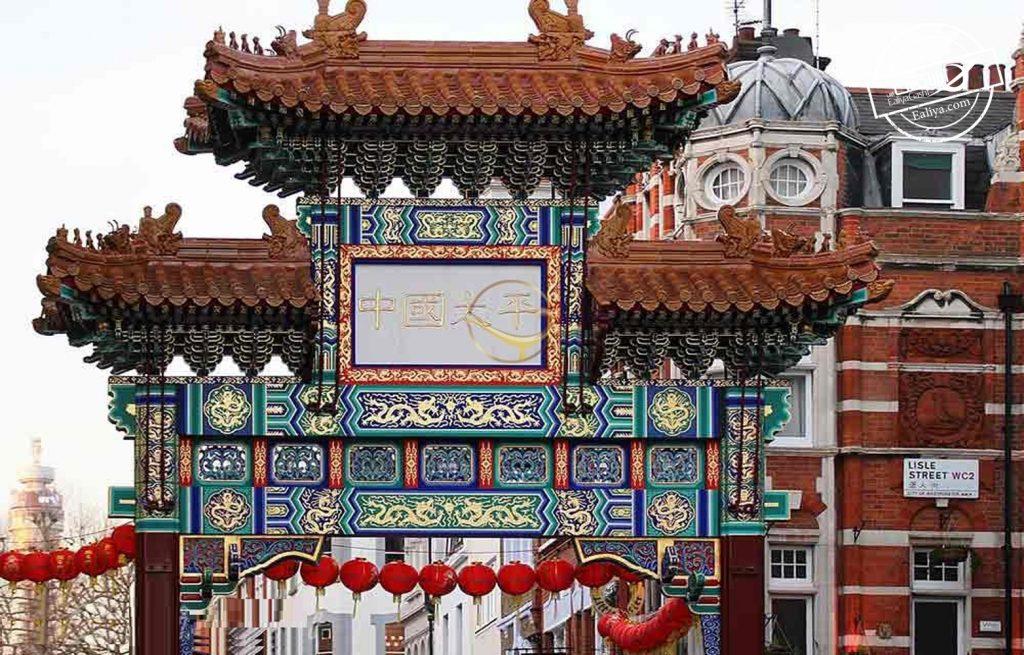 تاریخچه محله چینی های لندن