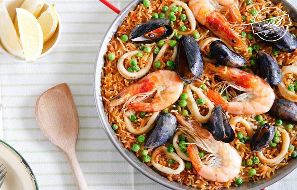 غذاهای جذاب اسپانیا