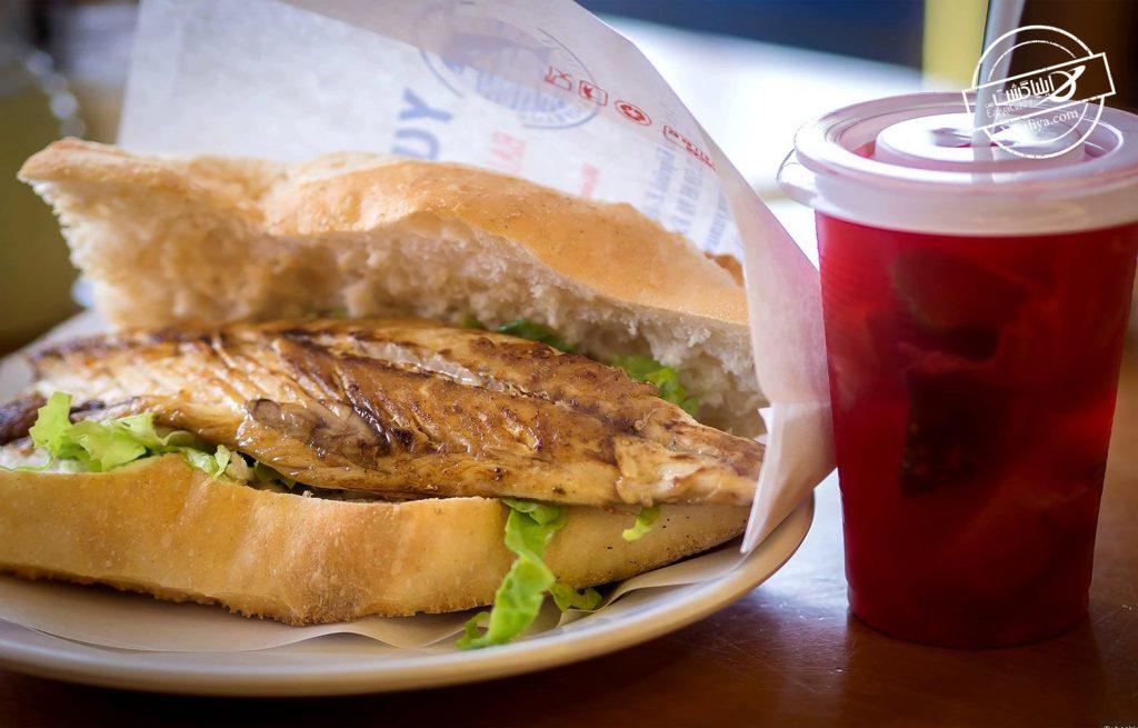 بالیک اکمک غذای ترکیه ای