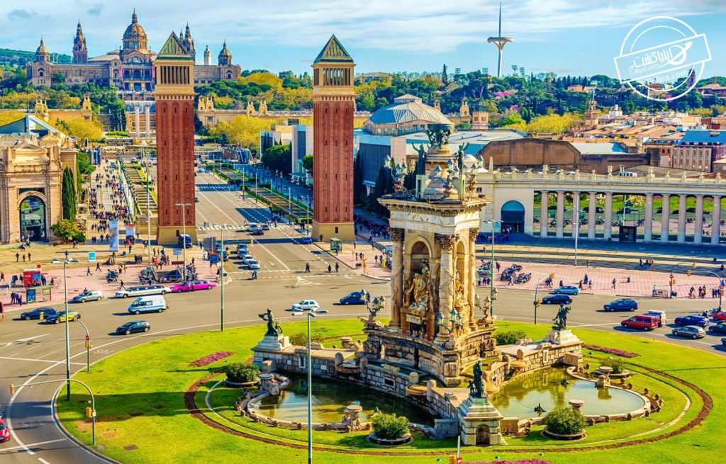 جاذبه های میدان اسپانیا