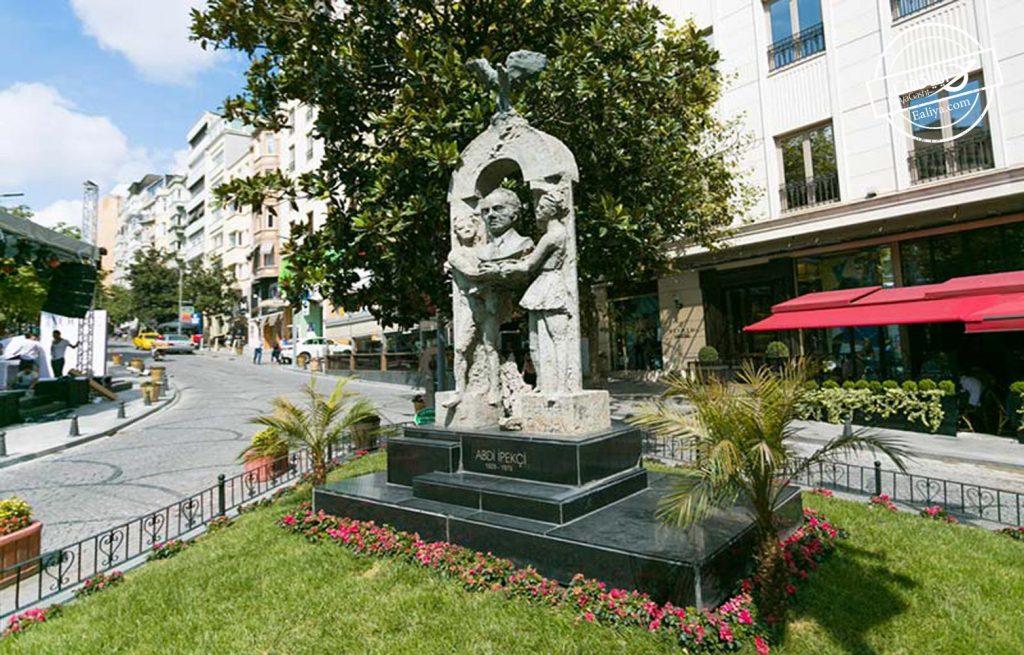 خیابان ایپکچی معروف استانبول