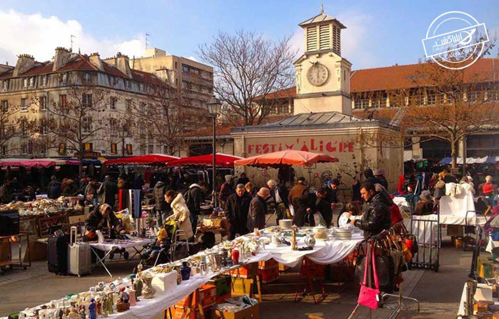 پاریس و بازار های آن