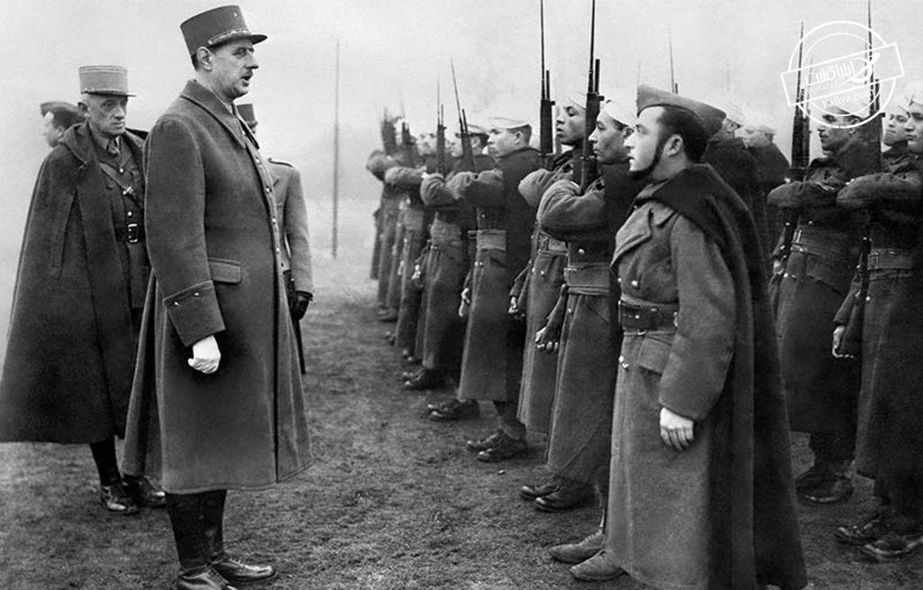 روابط جنگ شارل دوگل