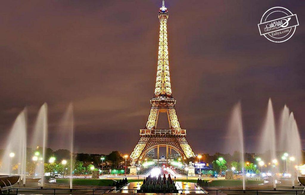دیدن برج ایفل پاریس