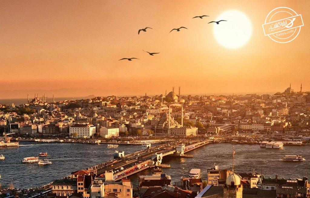 تماشای دیدنی افق در استانبول