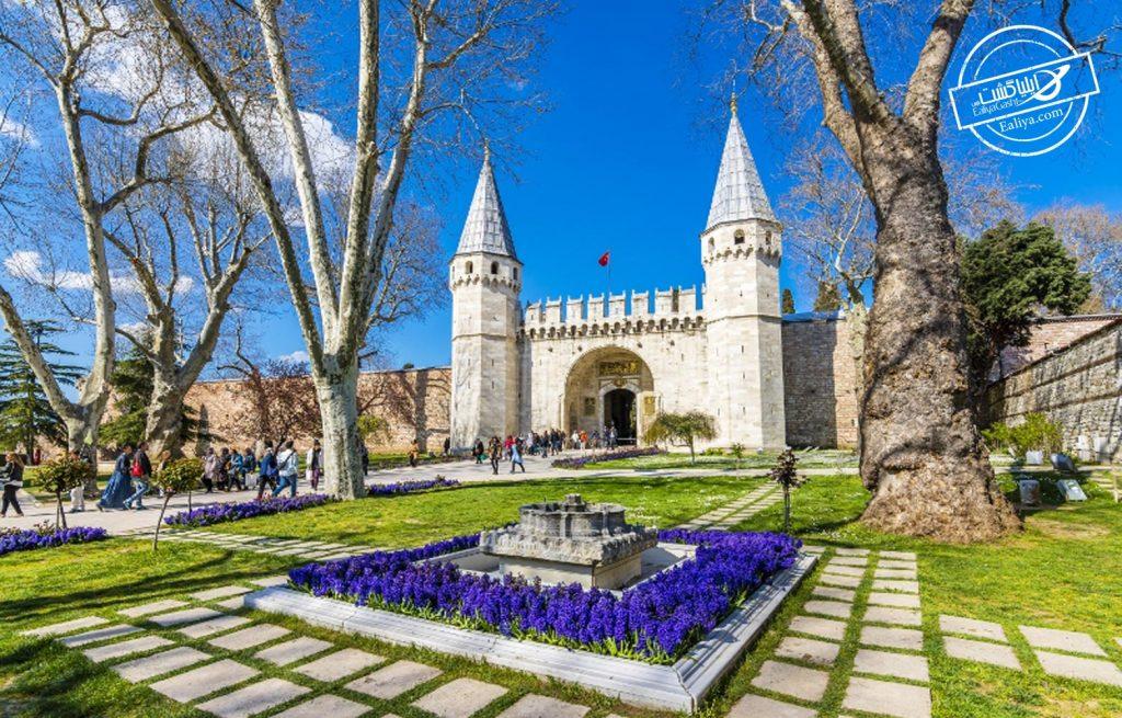 قصر توپکاپی استانبول
