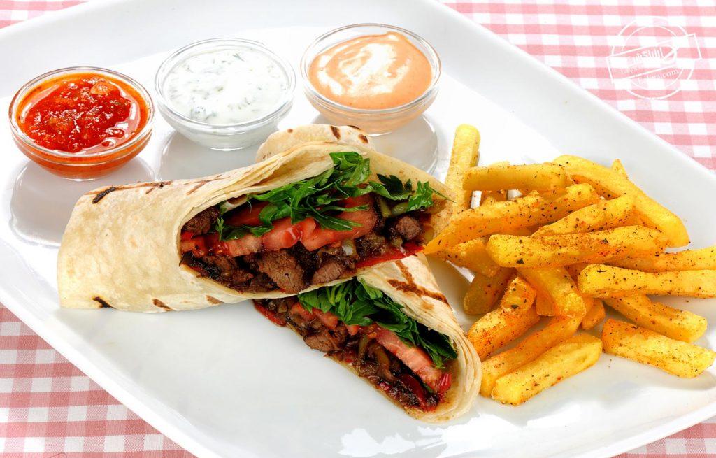 دوروم غذای ترکیه ای