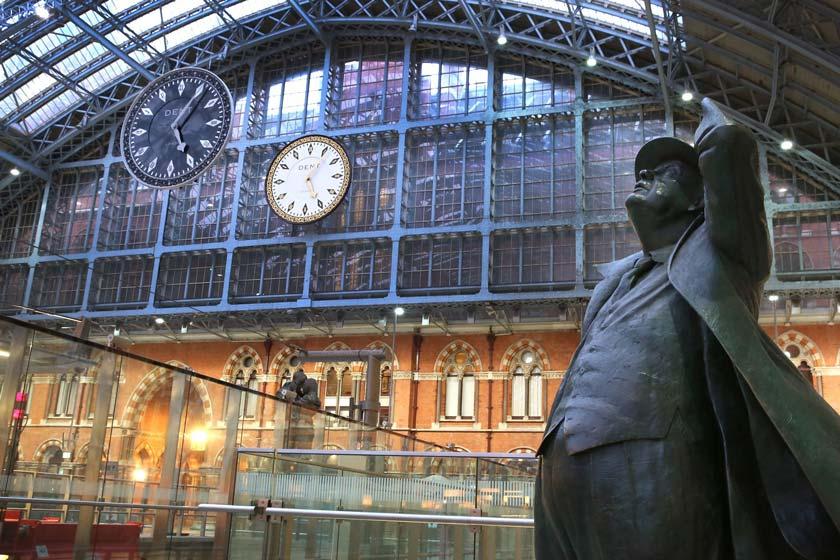 ایستگاه قطار سنت پانکراس لندن