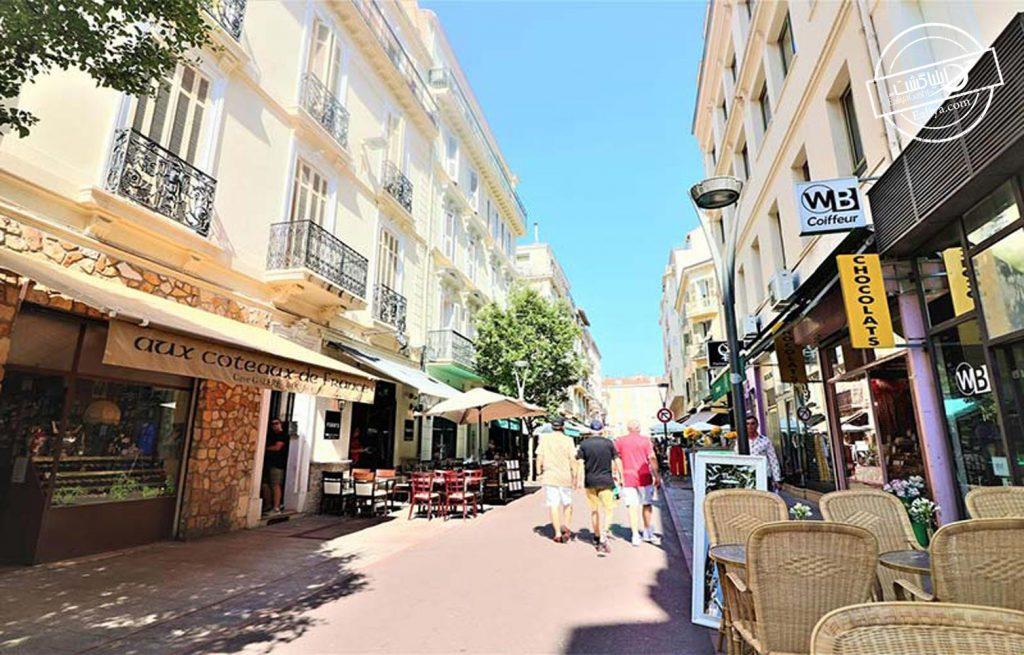 خیابان هوش در کن فرانسه
