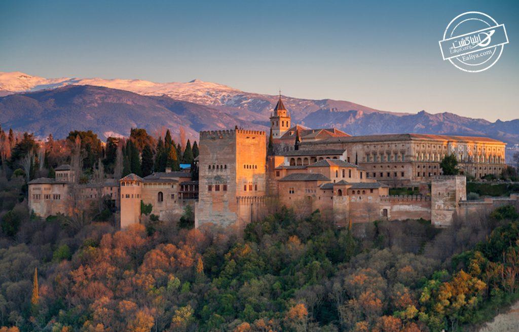 قصر الحمرا گرانادا اسپانیا