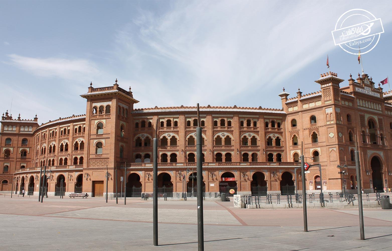 میدان بزرگ گاو بازی در اسپانیا