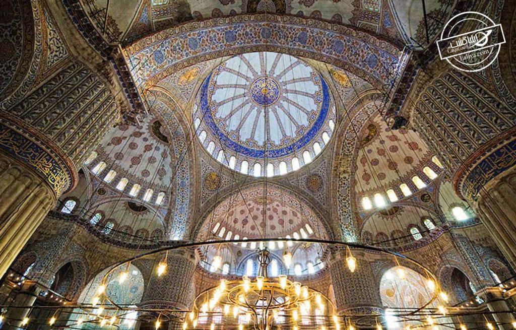 سفر به استانبول و دیدن سلطان احمد