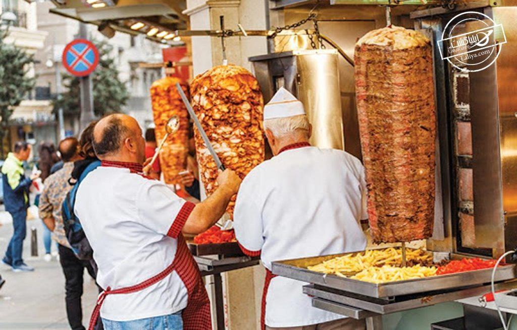 کباب های خیابانی استانبول