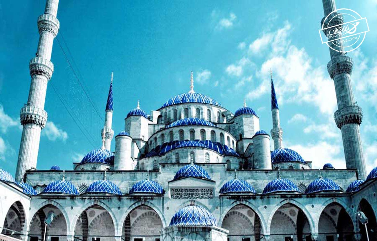 مسجد باشکوه سلطان احمد در استانبول